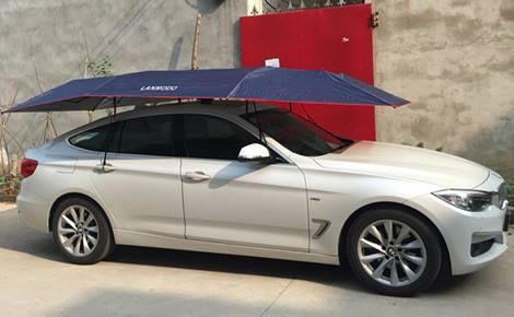 ร่มรถ ร่มรถยนต์ ร่มคลุมรถ ร่มสำหรับรถยนต์ Lanmodo x BMW Series3 (3.5 x 2.1 m.)